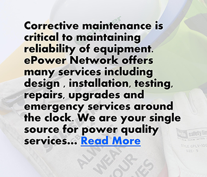 Power management service, secured power, battery preventative maintenance, maintenance agreement, battery monitoring.