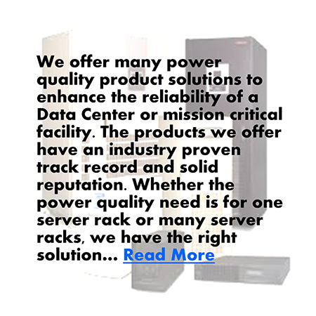 Batteries, power conditioning equipment, switchgear, DC Power, and back-up power generators.